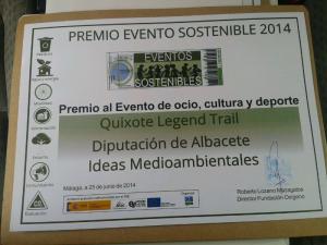 Premio evento sostenible