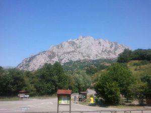 Escuela de escalada de Quirós.