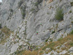 Fánatico día de escalada