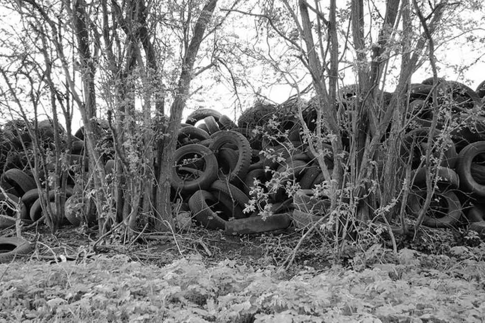 Cementerio de neumáticos