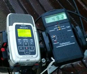 Grabadora y detector de ultrasonidos Pettersson D-240X.