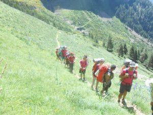 15 chavales de la Escuela Juvenil de Montaña de CLM