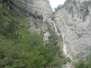 Y para terminar, el último día de campamento, una buena despedida en la famosa vía ferrata de Sorrosal, en Broto.