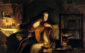 Óleo James Watt